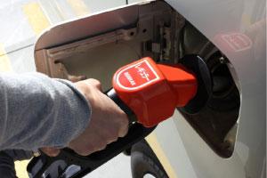 出光先払い式セルフの給油方法